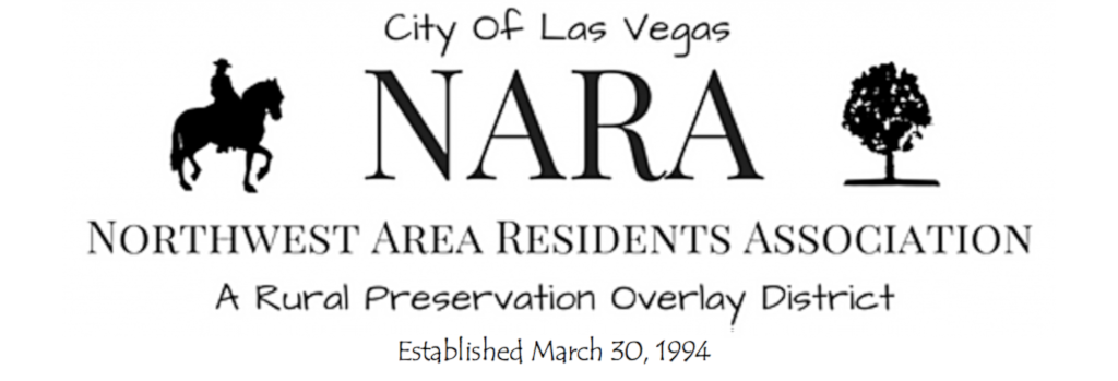 Las Vegas Northwest Area Residents Association
